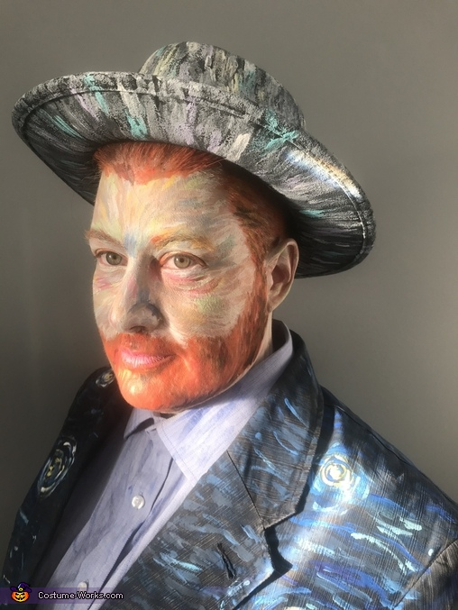 Headshot, Vincent Van Gogh - Self Portrait with Gray Felt Hat Costume
