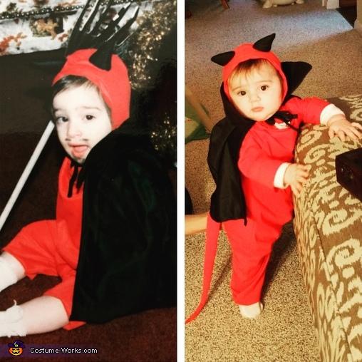 Vintage Devil Costume