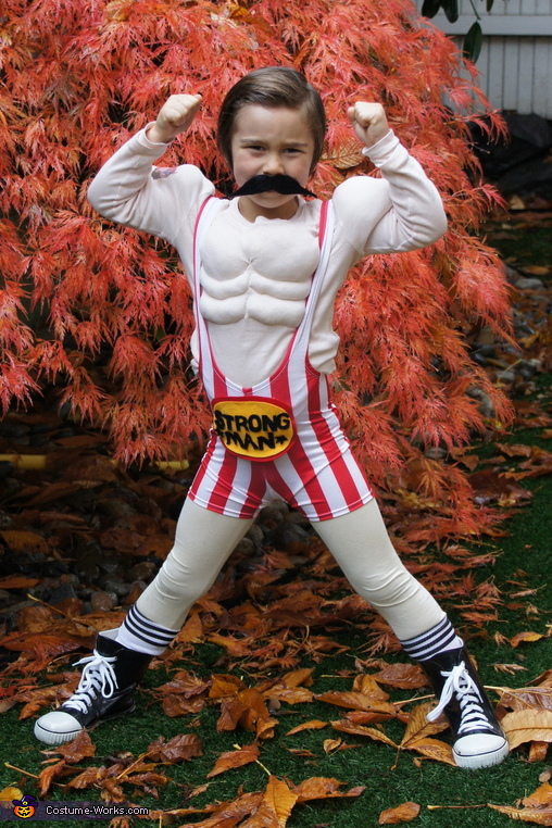 Vintage Strong Man Halloween Costume