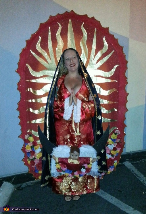 Virgin of Guadalupe Costume