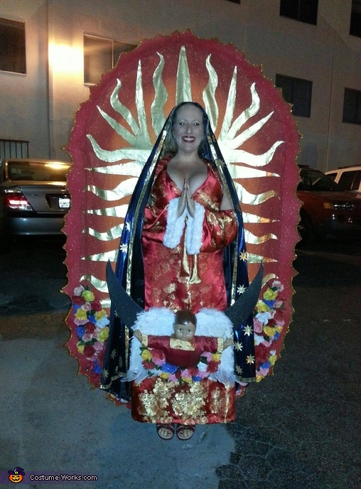 Virgin of Guadalupe Homemade Costume
