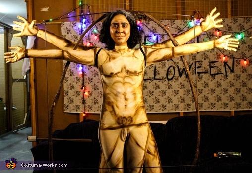 Vitruvian Man Costume