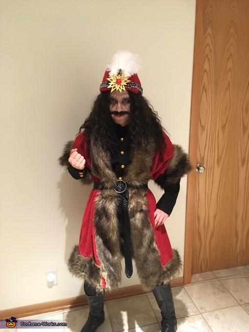 Vlad III Dracula Homemade Costume