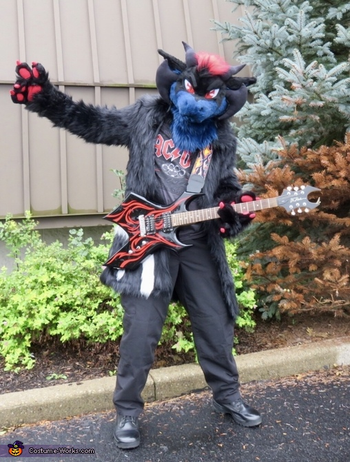 Vlad the Rock and Roll Dragon Costume