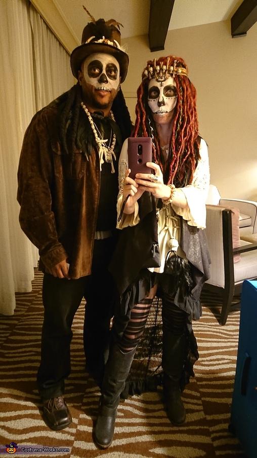 Vodou Priest and Priestess Homemade Costume
