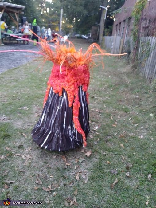 Just volcano hanging around, Volcano Costume