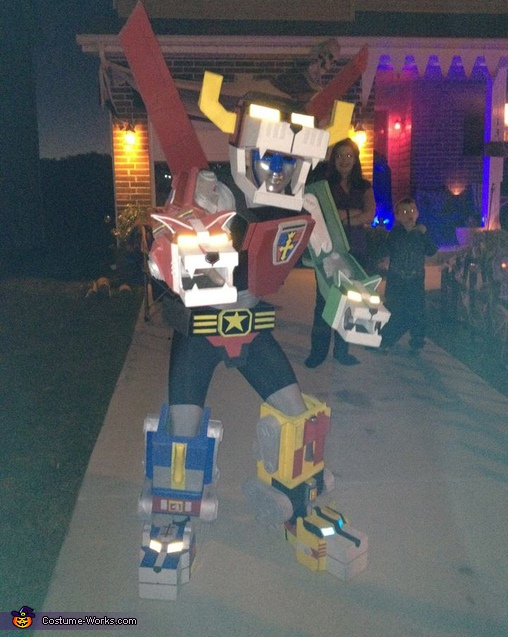 Voltron, Defender of the Universe - Homemade costumes for men