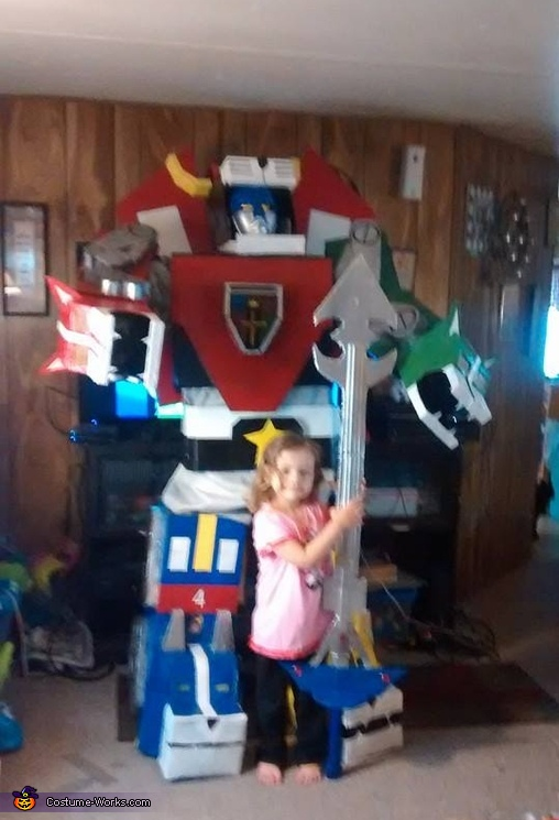 Voltron Homemade Costume