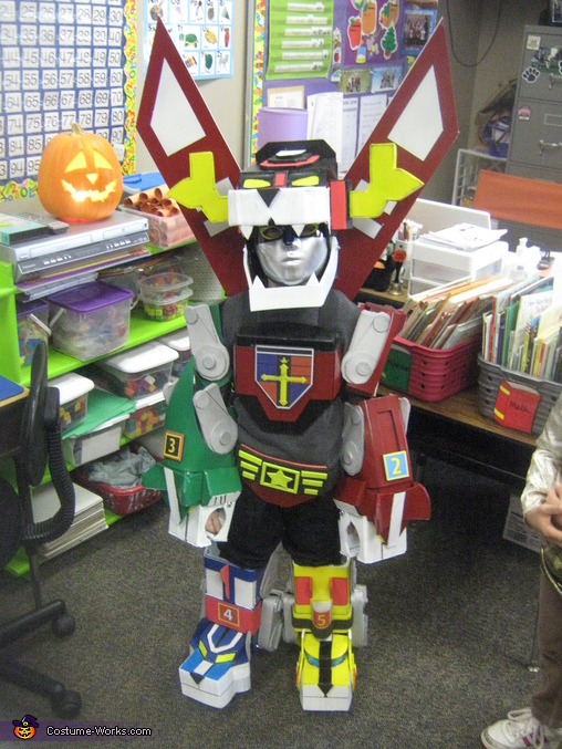 Voltron - Homemade costumes for boys