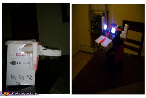 step 2 Boxes Helment, Voltron: Defender of the Universe Costume