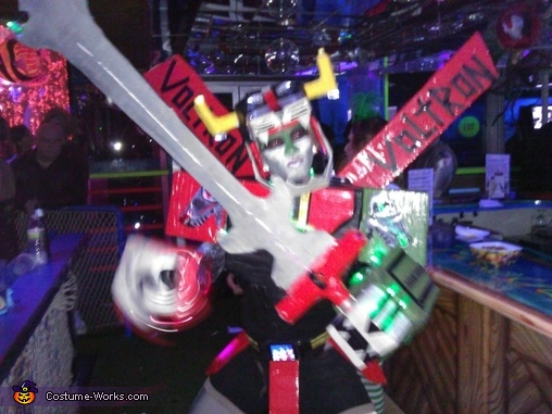 Voltron: Defender of the Universe Costume