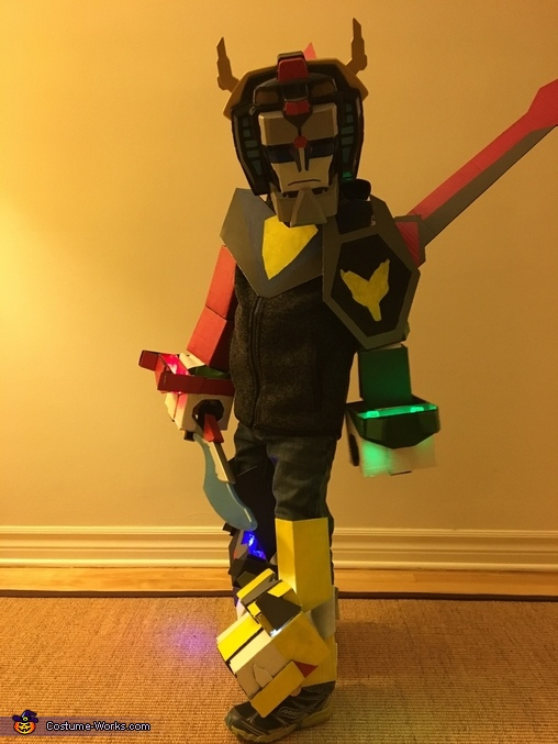 Voltron 2, Voltron: Defender of the Universe Costume