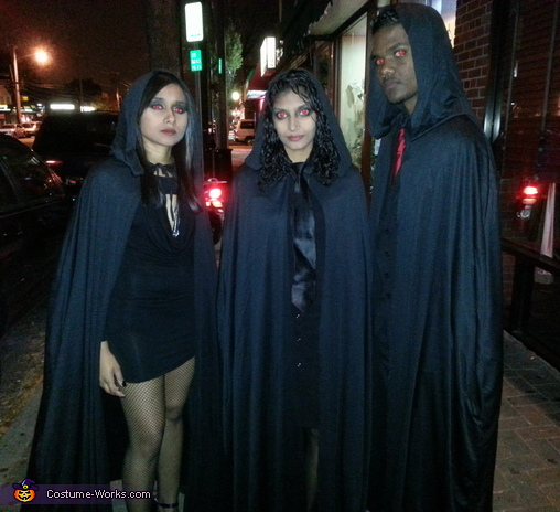 Volturi Twilight Characters Group Costume