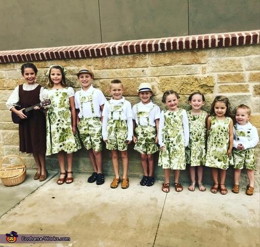 Von Trapp Children from Sound of Music Costume