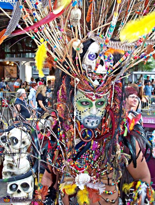 Voodo Men Homemade Costume