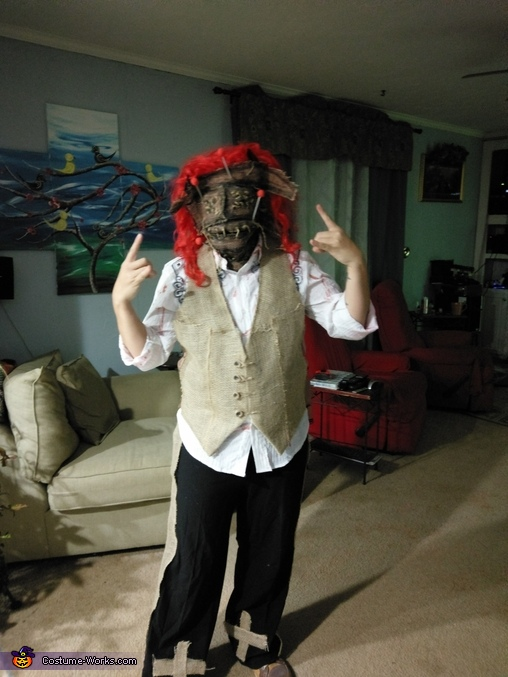 Voodoo Doll Adult Halloween Costume