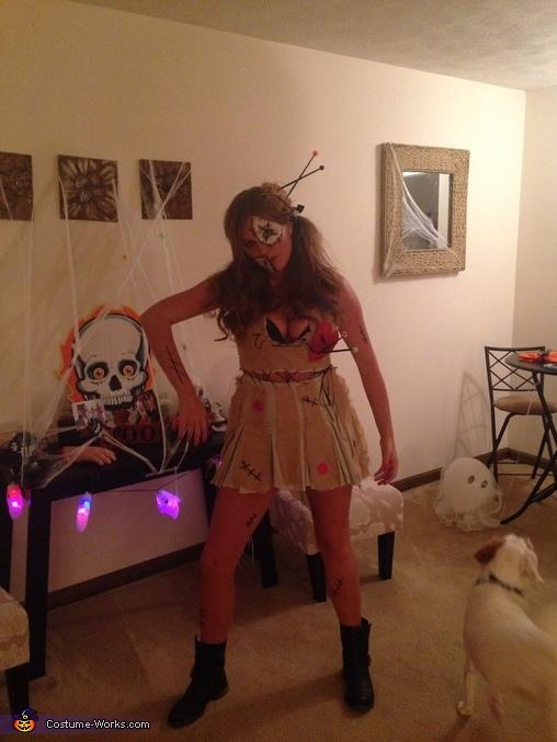 Voodoo creepy, Voodoo Doll Costume