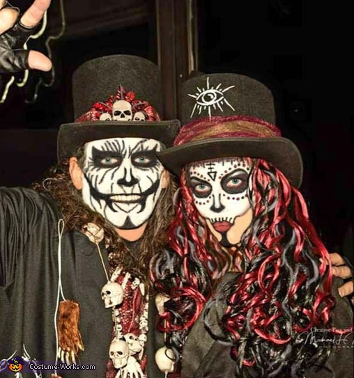 Voodoo King and Queen Costume