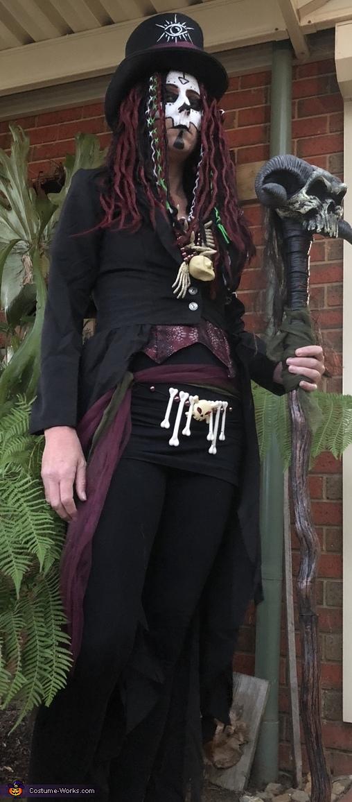 VOODOO, Voodoo Priestess Costume