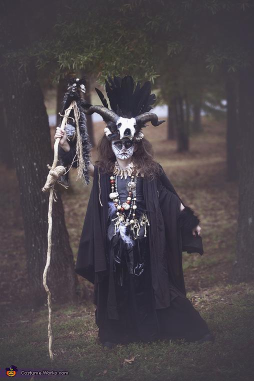 Full view, VooDoo Priestess Costume