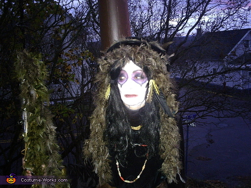 close up outdoors, Voodoo Priestess Costume