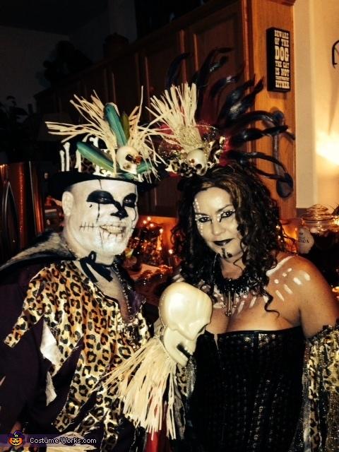 Voodoo Priestess and Voodoo Doctor Costume