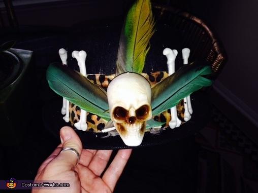 His hat, Voodoo Priestess and Voodoo Doctor Costume