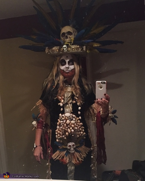 Voodoo Princess Costume
