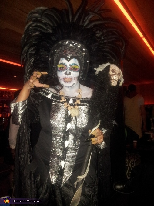 Voodoo Queen Homemade Costume