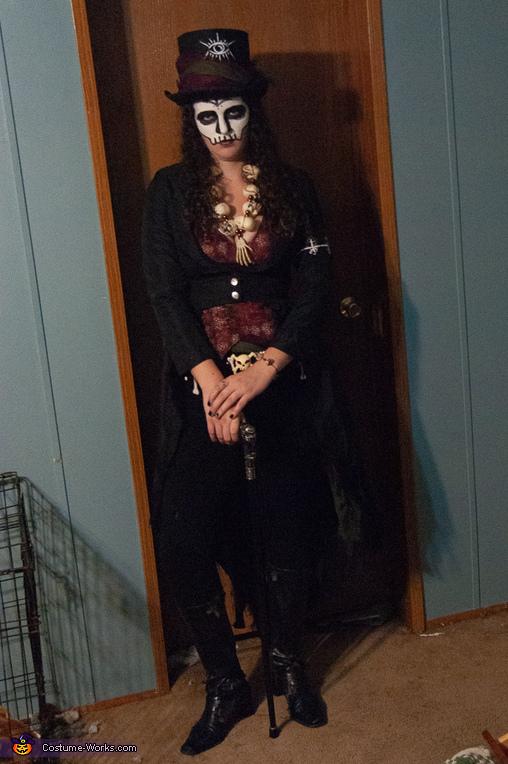 Voodoo Queen and her Undead Lover Homemade Costume
