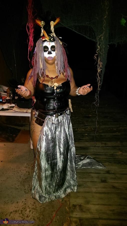 Voodoo Tiana Homemade Costume