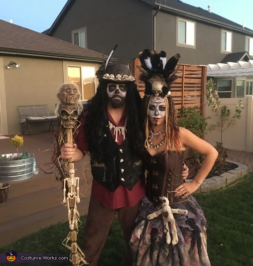 Voodoo Witches Costume