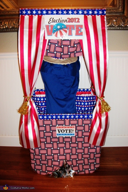 THE OTHER SIDE OF VOTING, Vote with Candy! Voting Booth Costume