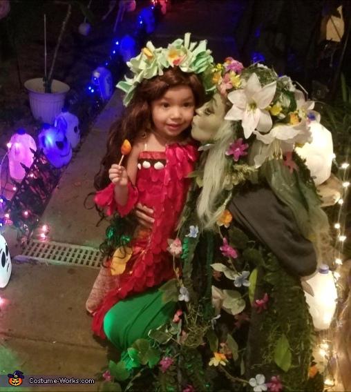 Voyager Moana and Tefiti Costume