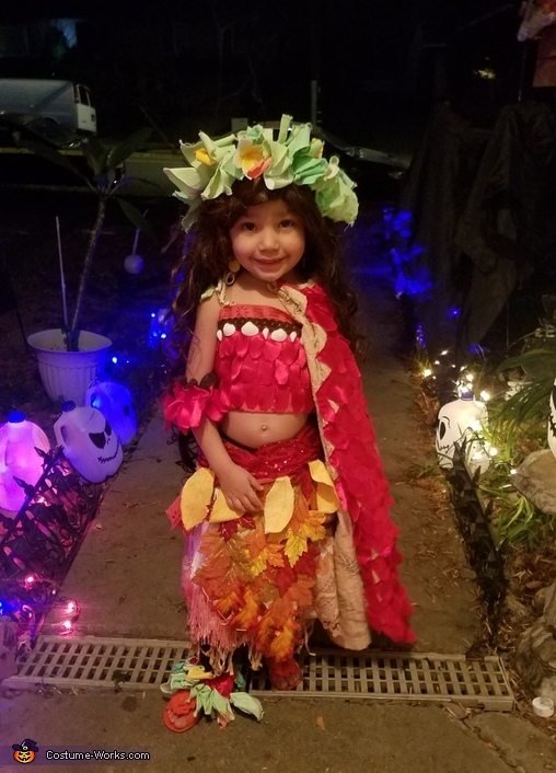 Voyager Moana, Voyager Moana and Tefiti Costume
