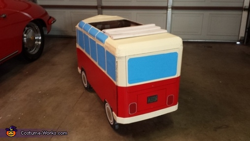 VW Hippie Bus Homemade Costume
