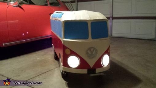VW Hippie Bus Homemade Costume