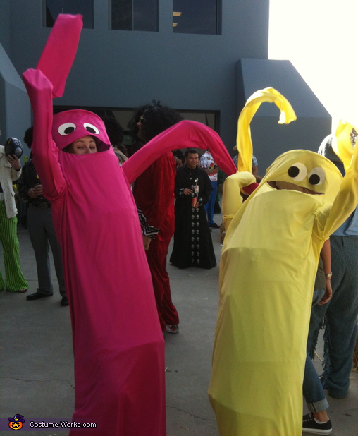 Wacky Waving Inflatable Flailing Arm Tube Men - Homemade costumes for adults