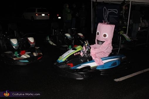 Wacky Wavy Inflatable Tube Man Homemade Costume