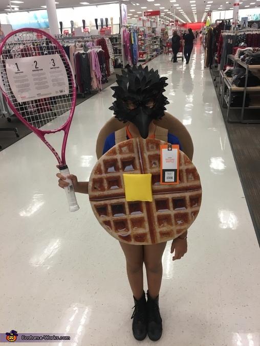 Waffle Hawk Costume
