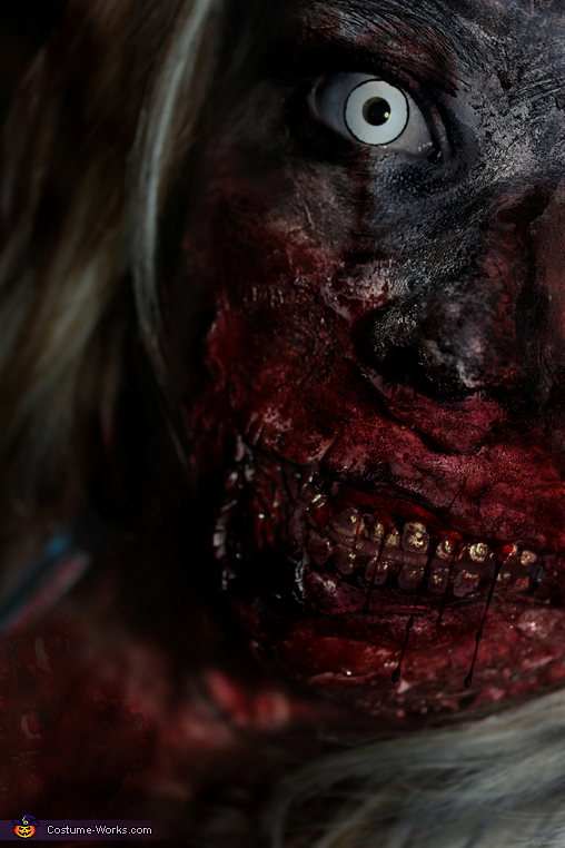 Waitress Zombie Adult Costume