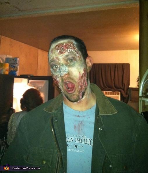Walking Dead Inspired Zombie Costume