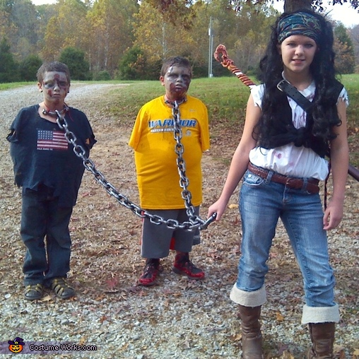Walking Dead Kids Costume