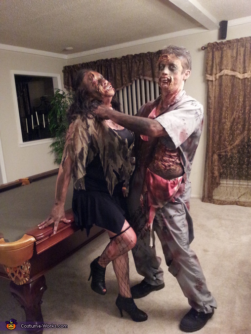 Zombie Love, Walking Dead Costume