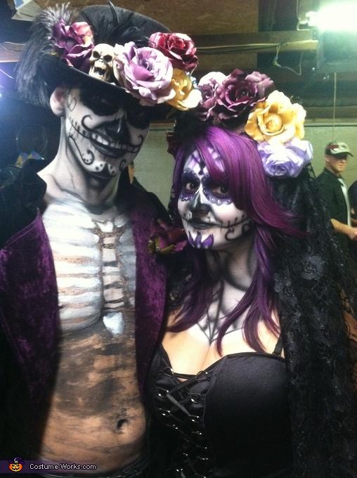 Walking Dead Bride and Groom Costume