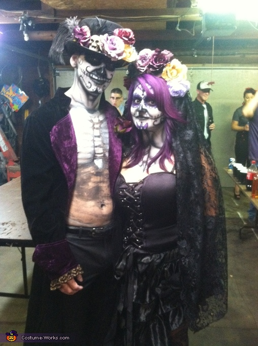 Bride and Groom of The Walking Dead, Walking Dead Bride and Groom Costume