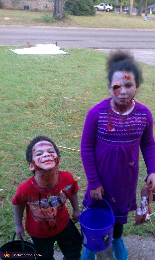 zombies 2, Walking Dead Children Costume