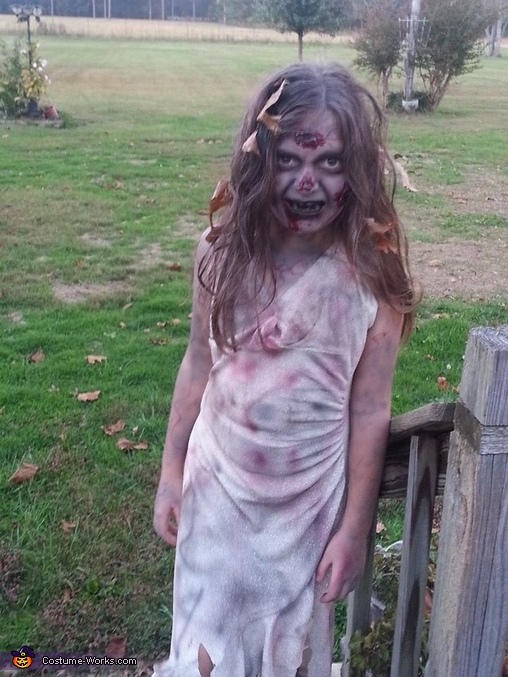 Walking Dead Girl Costume