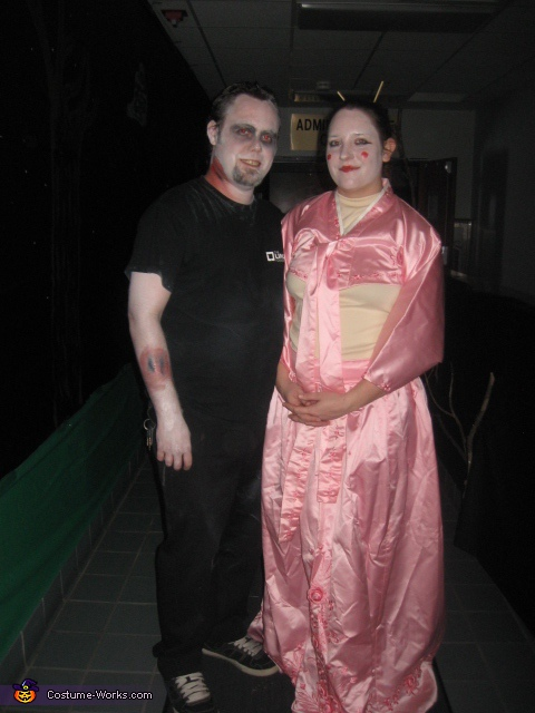 Walking Dead Linux and his Geisha Girl, Walking Dead Linux Costume