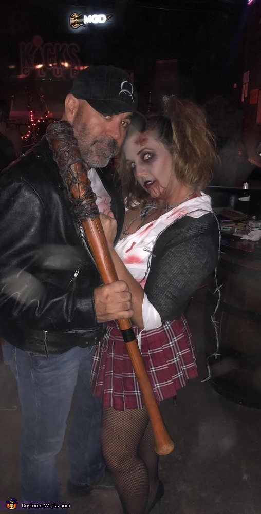 Walking Dead Negan and Walker Homemade Costume